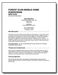 Forest Glen Mobile Home Subdivision by Environmental Protection Agency