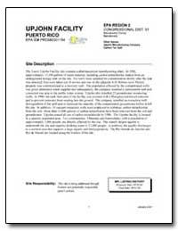 Upjohn Facility by Environmental Protection Agency