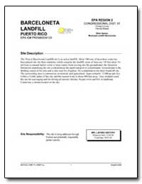 Barceloneta Landfill by Environmental Protection Agency