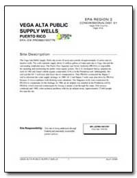 Vega Alta Public Supply Wells by Environmental Protection Agency