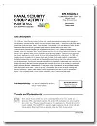 Naval Security Group Activity by Environmental Protection Agency