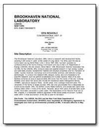 Brookhaven National Laboratory by Environmental Protection Agency