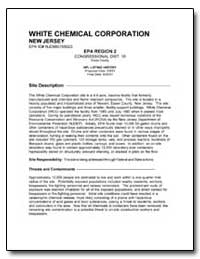 White Chemical Corporation by Environmental Protection Agency