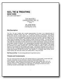 Gcl Tie & Treating by Environmental Protection Agency
