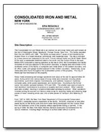 Consolidated Iron and Metal by Environmental Protection Agency