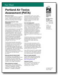 Portland Air Toxics Assessment (Pata) by Environmental Protection Agency