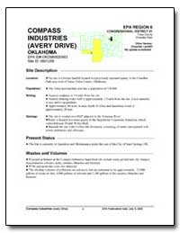 Compass Industries (Avery Drive) Oklahom... by Environmental Protection Agency