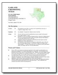 Garland Creosoting Texas by Environmental Protection Agency