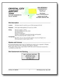 Crystal City Airport by Environmental Protection Agency