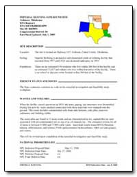 Imperial Refining Superfund Site by Environmental Protection Agency