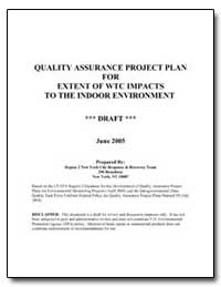 Quality Assurance Project Plan for Exten... by Environmental Protection Agency