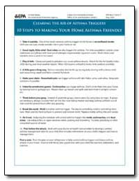 Clearing the Air of Asthma Triggers 10 S... by Environmental Protection Agency