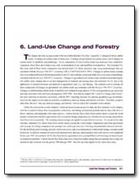 6. Land-Use Change and Forestry by Environmental Protection Agency
