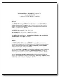 Major Floor Actions of the Day Documents... by Environmental Protection Agency
