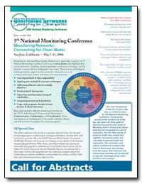 Monitoring Networks : Connecting for Cle... by Environmental Protection Agency