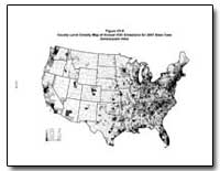 Figure Vii-9 County-Level Density Map of... by Environmental Protection Agency