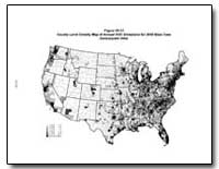 Figure Vii-31 County-Level Density Map o... by Environmental Protection Agency