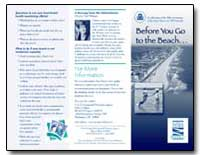 Before You Go to the Beach by Environmental Protection Agency