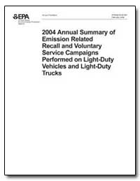 2004 Annual Summary of Emission Related ... by Environmental Protection Agency
