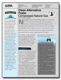 Clean Alternative Fuels : Compressed Nat... by Environmental Protection Agency