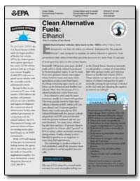 Clean Alternative Fuels : Ethanol One in... by Environmental Protection Agency