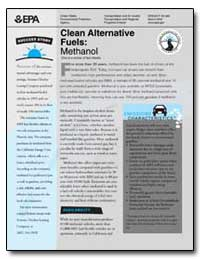Clean Alternative Fuels : Methanol One i... by Environmental Protection Agency
