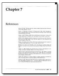 Chapter 7 : Part 503 Risk Assessment Ref... by Mcgrath, J. S.
