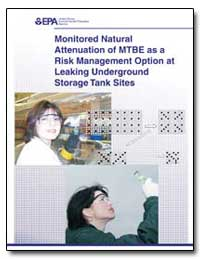 Monitored Natural Attenuation of Mtbe as... by Wilson, John T.