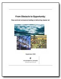 From Obstacle to Opportunity : How Acid ... by Dudek, Daniel J.