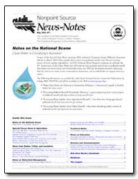 Nonpoint Source News-Notes May 2003, #71 by Environmental Protection Agency