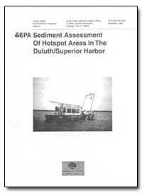 Epa Sediment Assessment of Hotspot Areas... by Crane, Judy L.