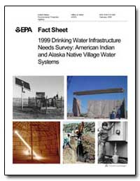 Fact Sheet 1999 Drinking Water Infrastru... by Environmental Protection Agency