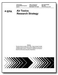 Air Toxics Research Strategy by Environmental Protection Agency