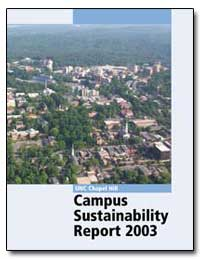 Unc Chapel Hill Campus Sustainability Re... by Elfland, Carolyn