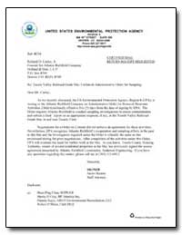 United States Environmental Protection A... by Starnes, James E.