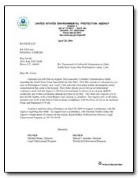 United States Environmental Protection A... by Kercher, Sharon L.