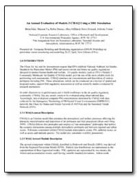 An Annual Evaluation of Models-3 Cmaq Us... by Environmental Protection Agency