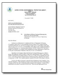 United States Environmental Protection A... by Evans, Elisabeth