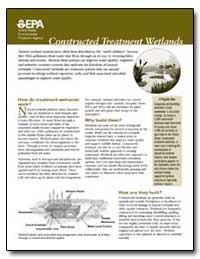 Constructed Treatment Wetlands by Environmental Protection Agency