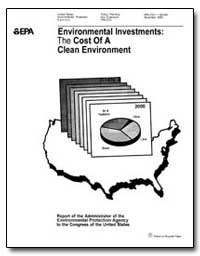 Environmental Investments : The Cost of ... by Environmental Protection Agency
