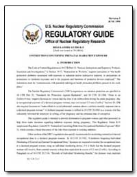 Regulatory Guide by Environmental Protection Agency