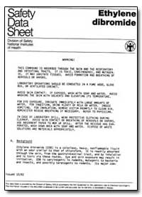 Safety Data Sheet by Environmental Protection Agency