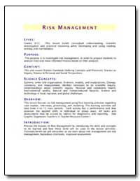 Risk Management by Environmental Protection Agency