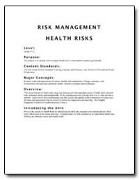 Risk Management Health Risks by Environmental Protection Agency