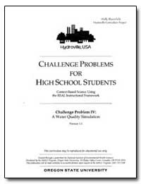 Challenge Problems for High School Stude... by Environmental Protection Agency