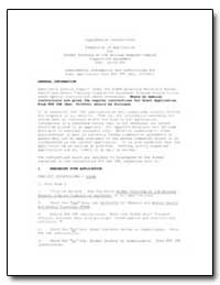 Supplemental Instructions Submission of ... by Environmental Protection Agency