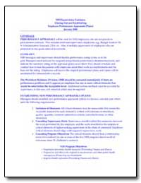Nih Supervisory Guidance Closing Out and... by Environmental Protection Agency