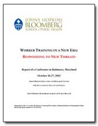 Worker Training in a New Era : Respondin... by Mitchell, Clifford S.