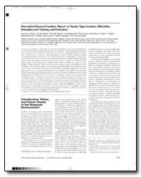 Biomedical Research Leaders : Report on ... by Wilson, Samuel H., M. D.