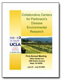 Collaborative Centers for Parkinson's Di... by Environmental Protection Agency